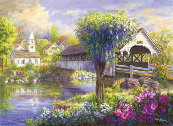 Picturesque Bridges Jigsaw Puzzle