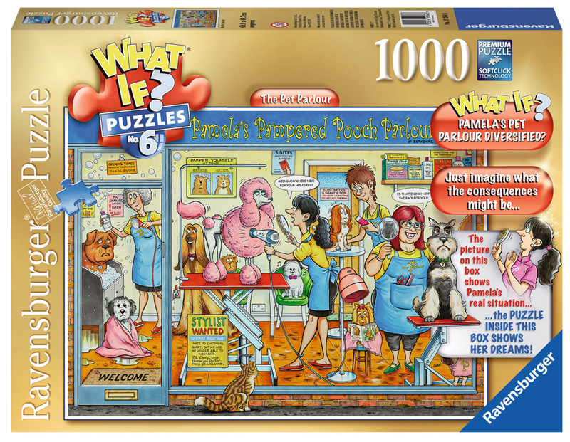 The Pet Parlour (What If?) Cats Jigsaw Puzzle
