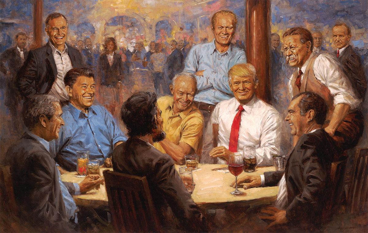 The Republican Club Patriotic Jigsaw Puzzle