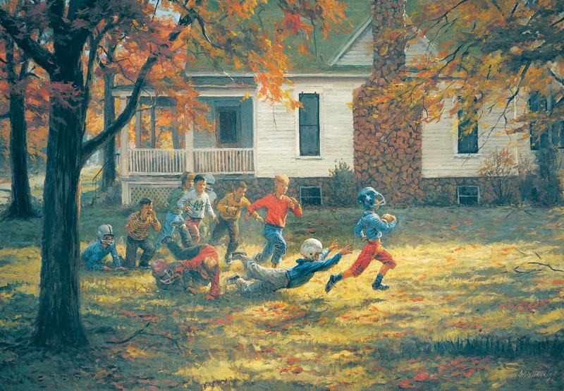Fall Football Sports Jigsaw Puzzle