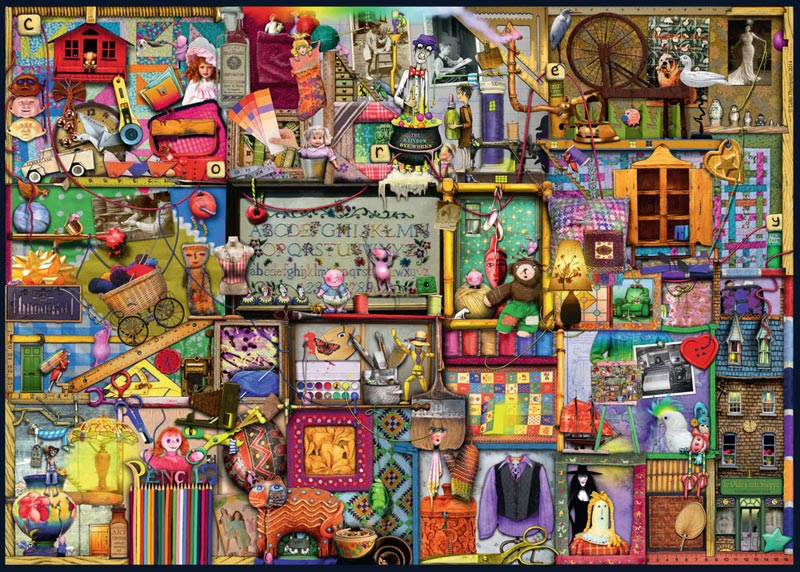 The Craft Cupboard Crafts & Textile Arts Jigsaw Puzzle