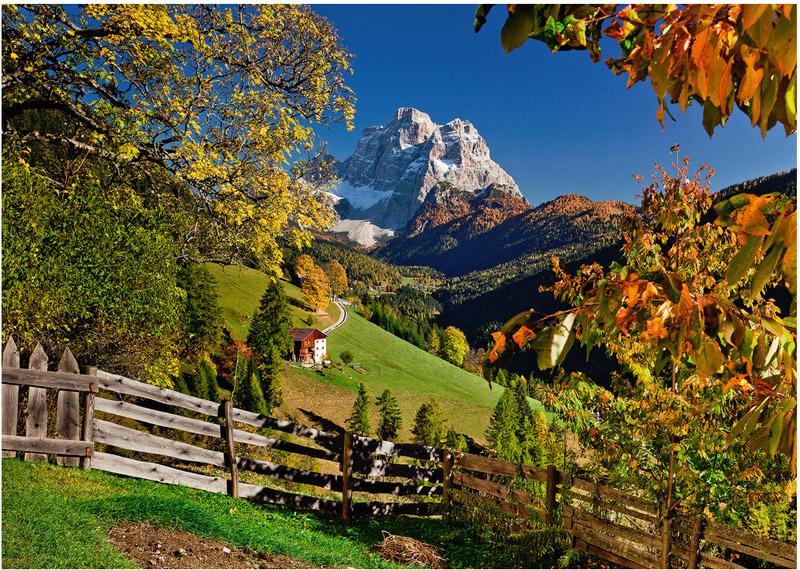 Mountainous Italy Mountains Jigsaw Puzzle