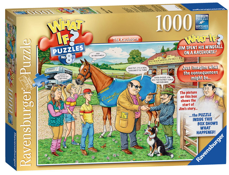 The Racehorse (What If?) Farm Jigsaw Puzzle