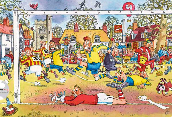 Wasgij - #14 Football Madness Wasgij Jigsaw Puzzle