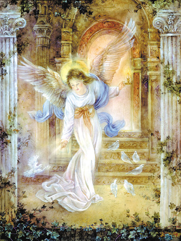Angel of Light Angels Jigsaw Puzzle
