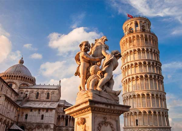 Tower of Pisa Italy Jigsaw Puzzle