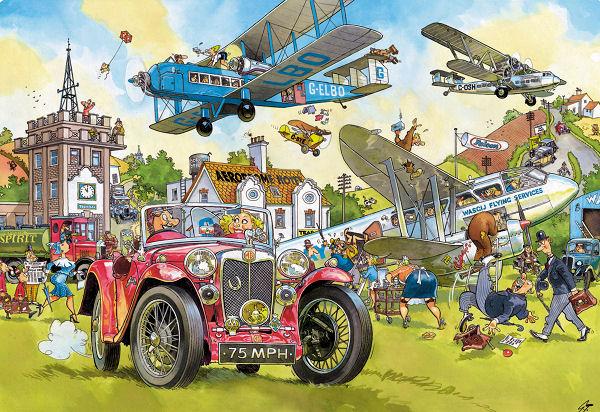 Wasgij - Destiny #5 Time Travel Wasgij Jigsaw Puzzle