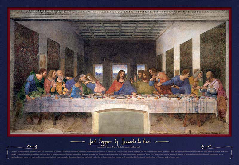 Last Supper Renaissance Jigsaw Puzzle