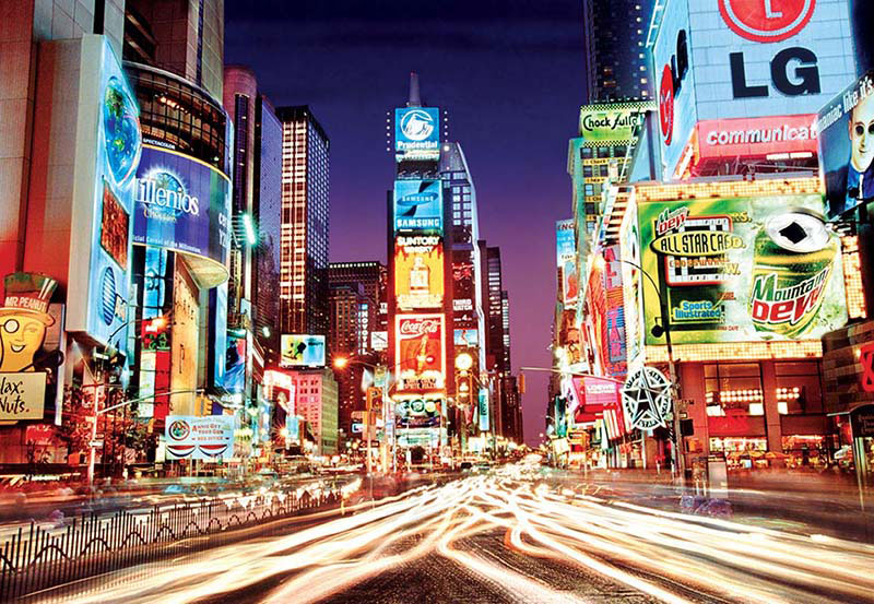 Times Square, NY, NY New York Jigsaw Puzzle