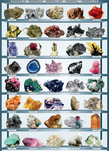 Minerals Educational Jigsaw Puzzle