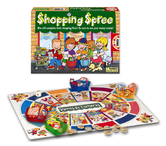 Shopping Spree Children's Games