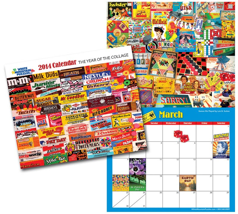 2014 Collage Calendar Collage Novelty