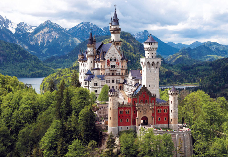 Neuschwanstein Castle, Bavaria Castles Jigsaw Puzzle