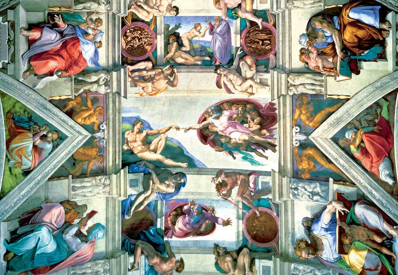 Sistine Chapel Renaissance Jigsaw Puzzle