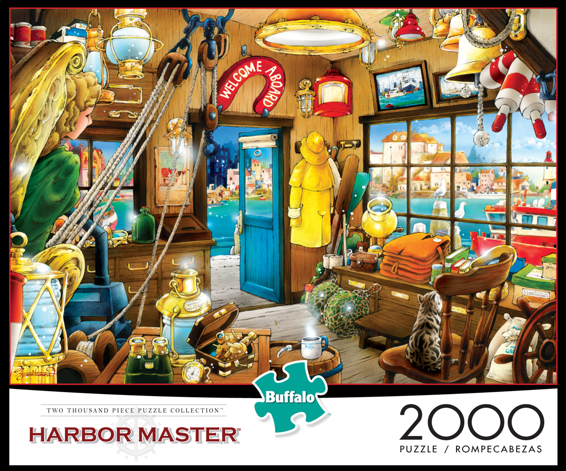 Harbor Master - Scratch and Dent Everyday Objects Jigsaw Puzzle