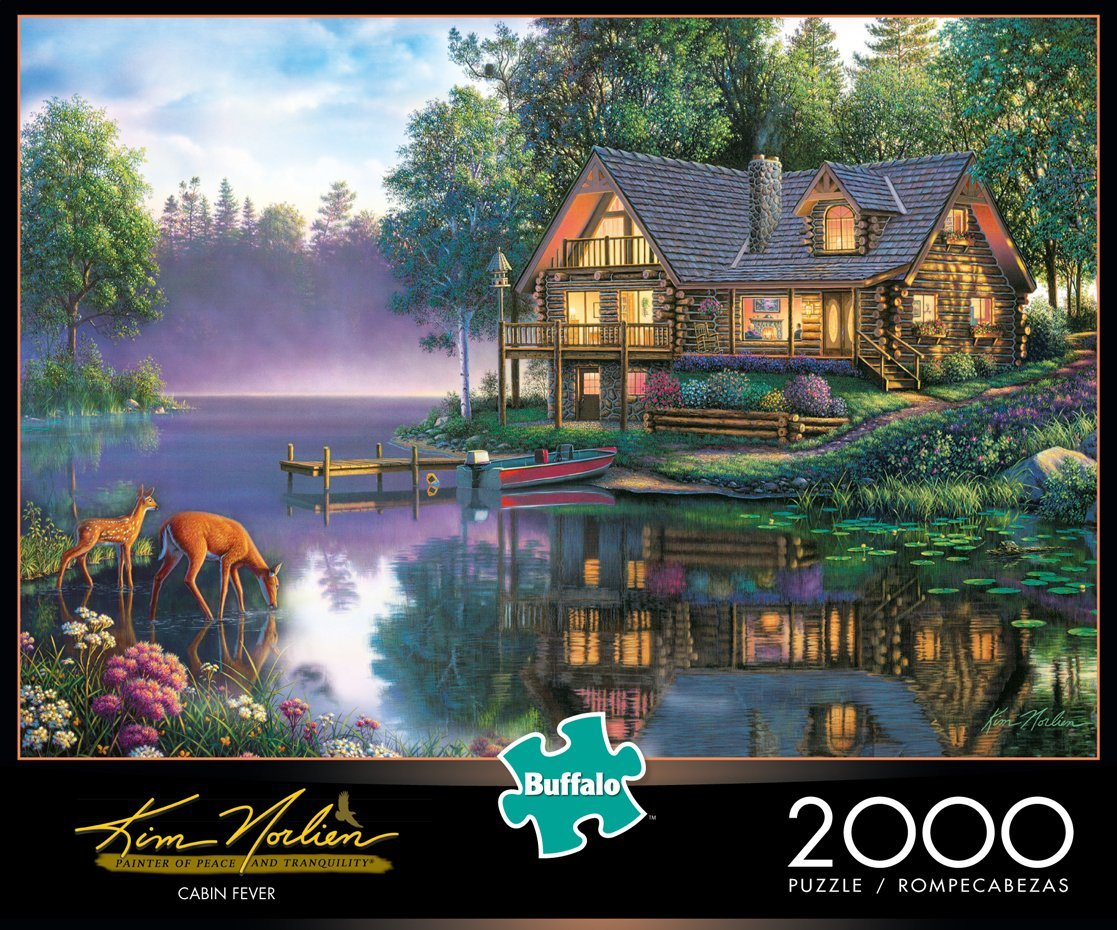 Cabin Fever Countryside Jigsaw Puzzle
