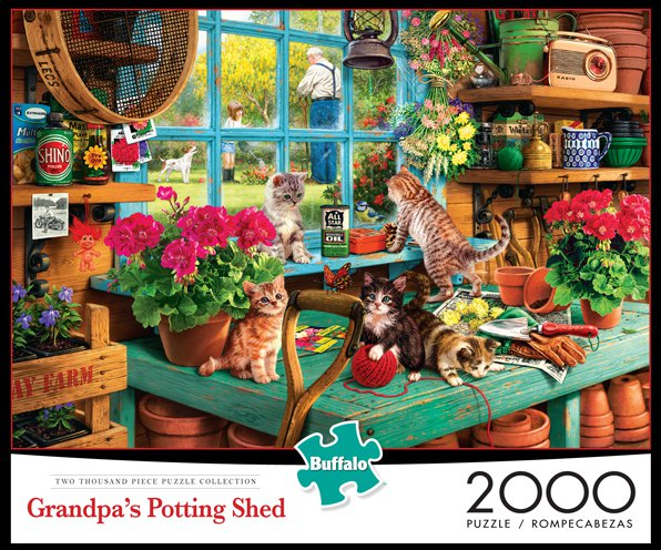 Grandpa's Potting Shed - Scratch and Dent Cats
