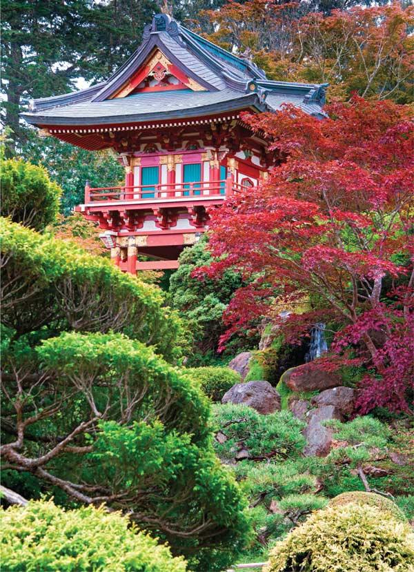 Click 500pc - Japanese Tea Garden Jigsaw Puzzle   PuzzleWarehouse.com