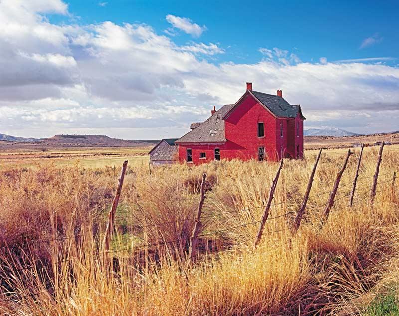 Click - Old Prairie Farm Photography Jigsaw Puzzle