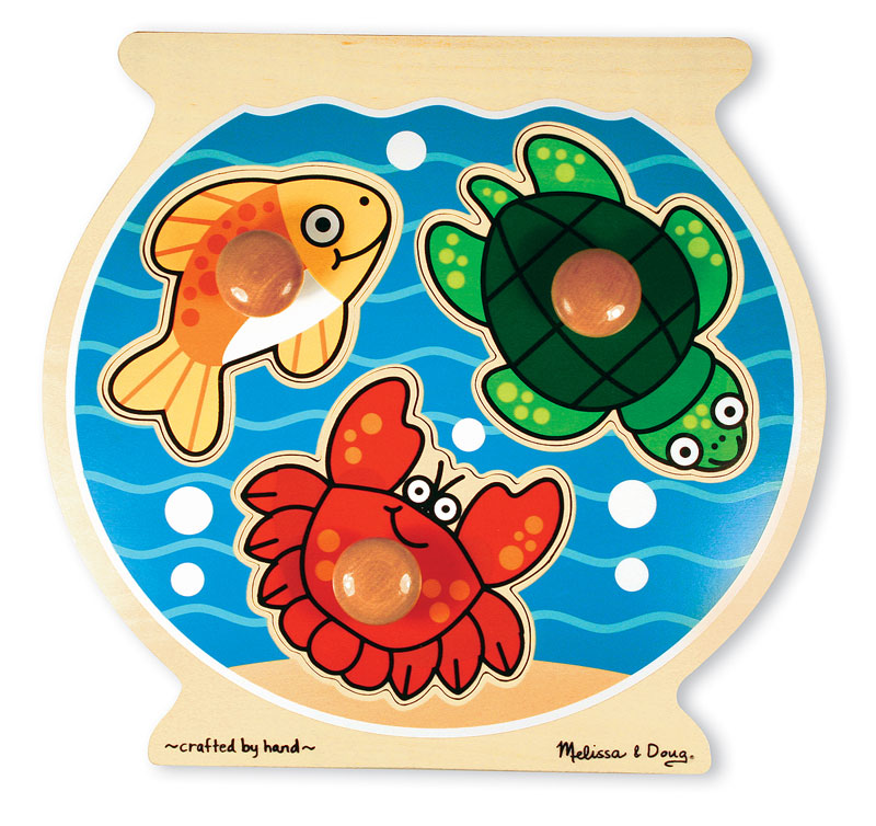 Fish Bowl Jumbo Knob Under The Sea Jigsaw Puzzle