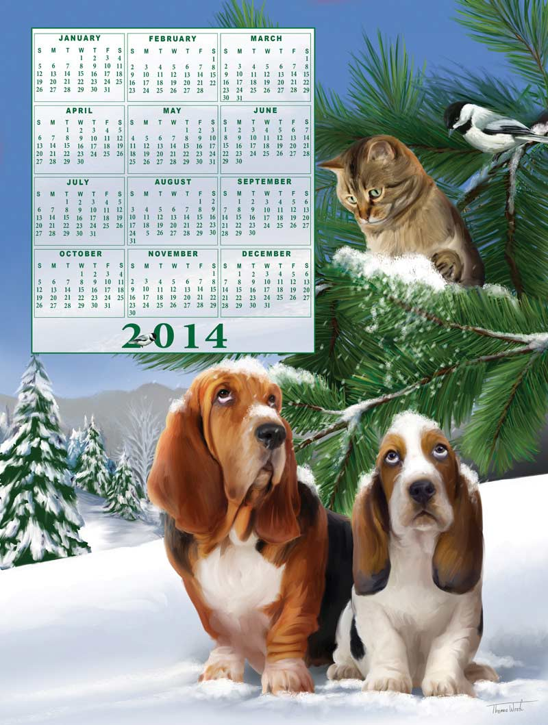 Time's Pieces - Look Out Below Calendars Jigsaw Puzzle