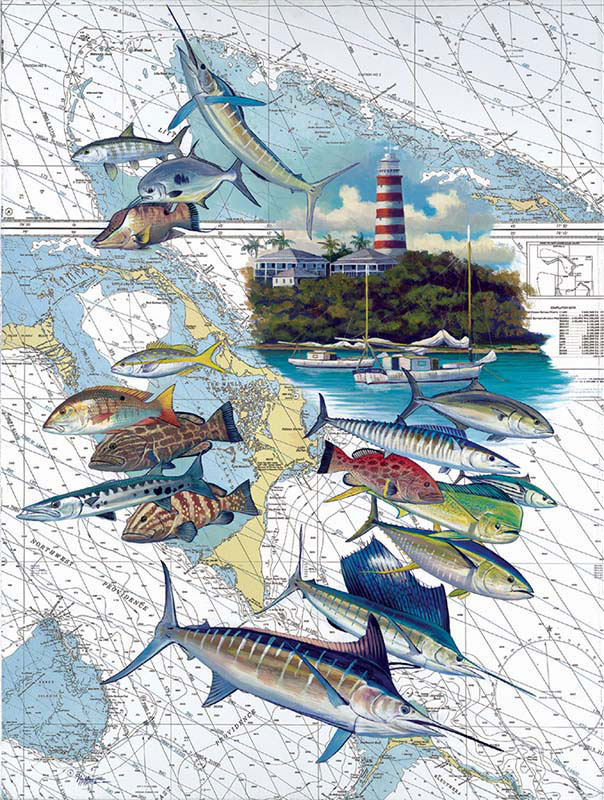 Hopetown Fish Jigsaw Puzzle