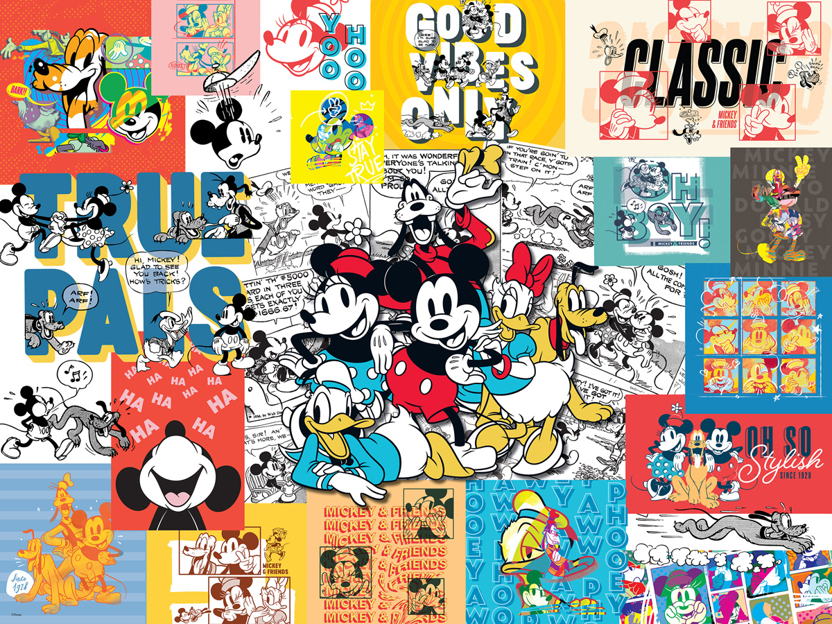 Mickey and Friends Disney Jigsaw Puzzle