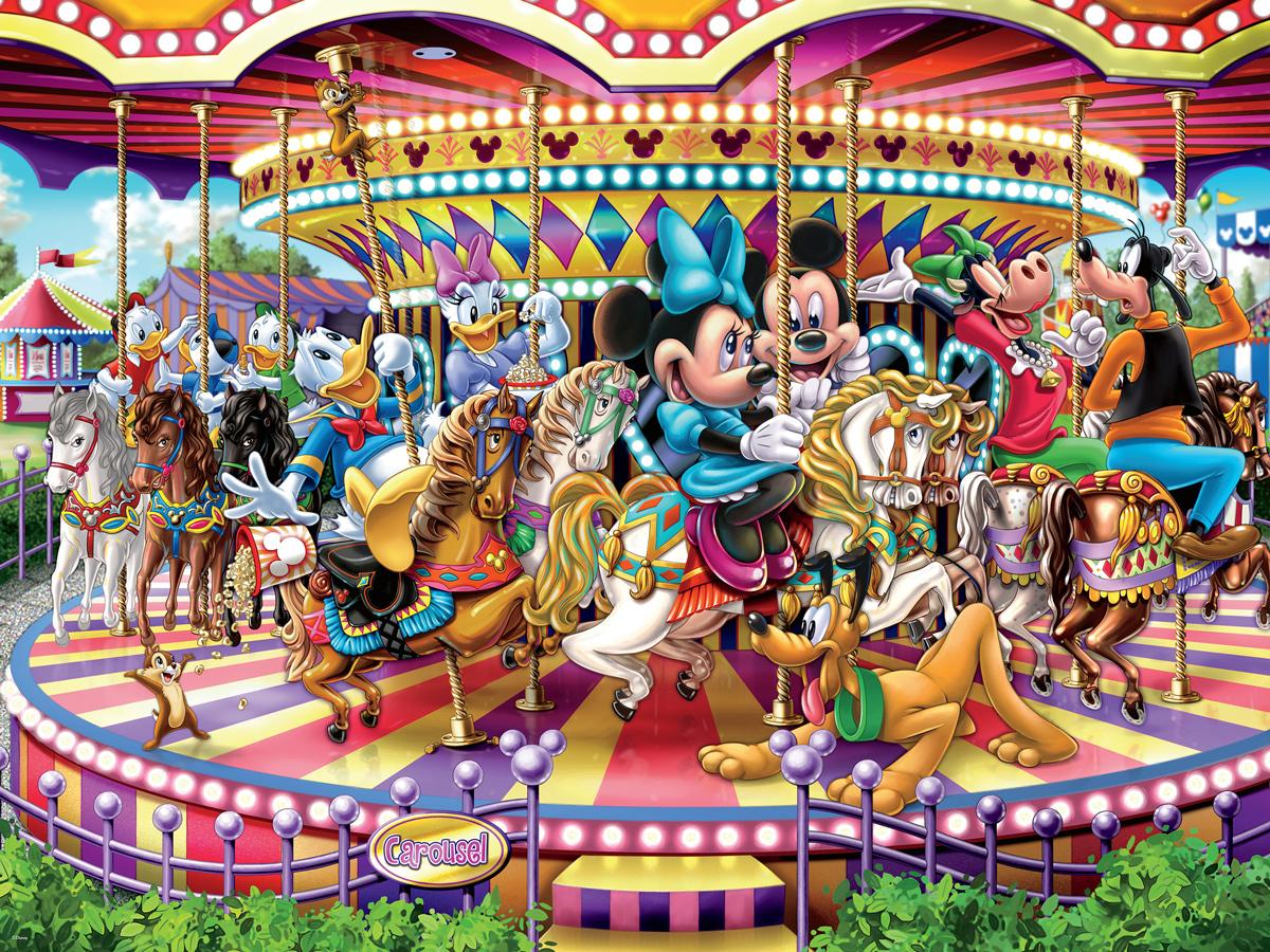 Carousel Disney Jigsaw Puzzle