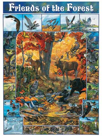 Friends of the Forest Jigsaw Puzzle