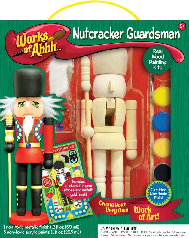 Works of Ahhh... Nutcracker Guardsman Arts and Crafts