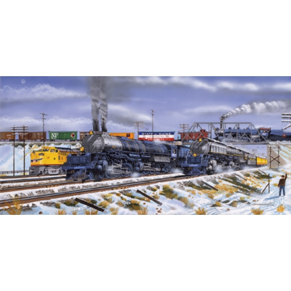 State of Main Trains Jigsaw Puzzle