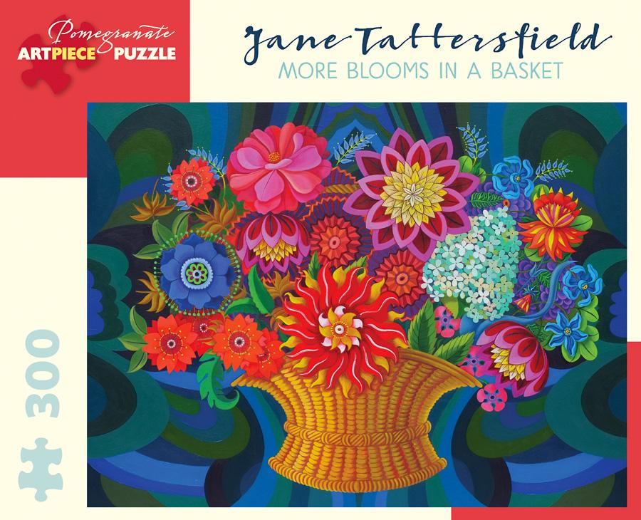 Flower Baskets Crossword Clue : Blooms basket jigsaw puzzle puzzlewarehouse