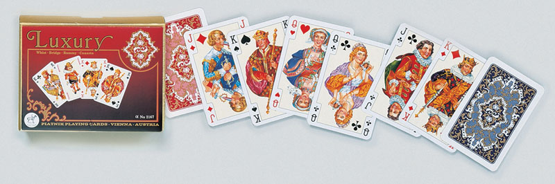Luxury, Double Deck Playing Cards
