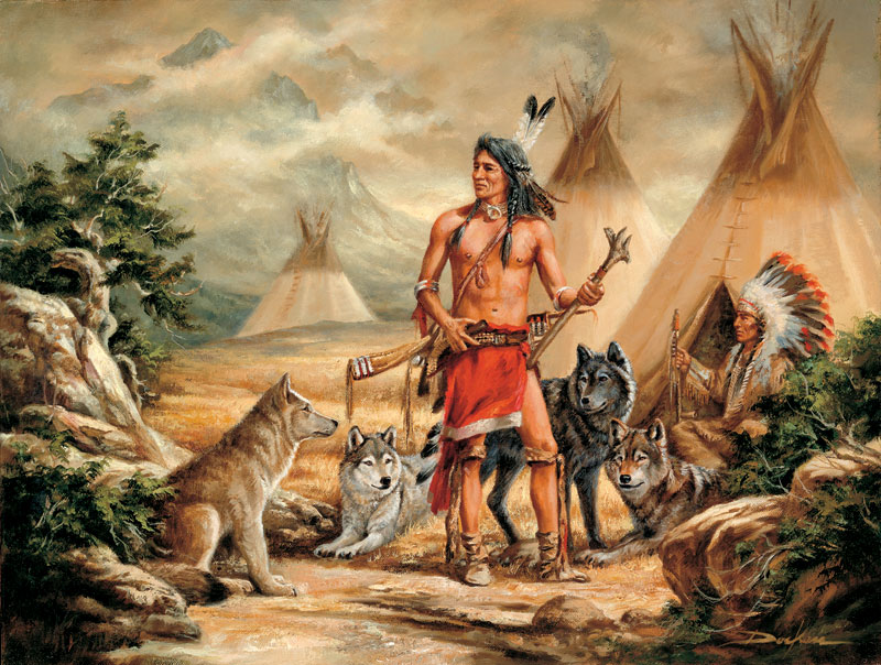 Sacred Allies Native American Jigsaw Puzzle