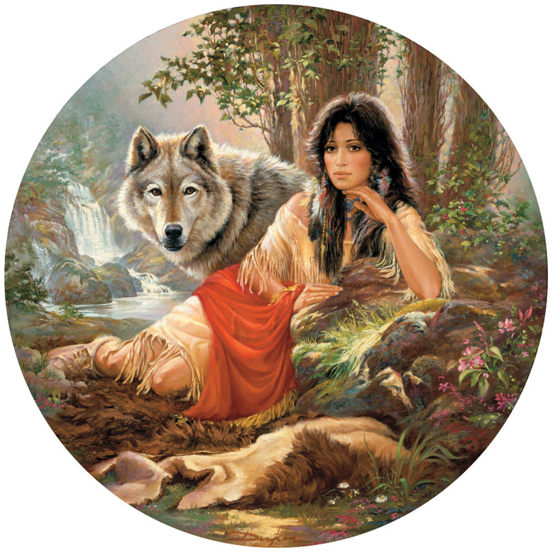 Mystic Bond Native American Jigsaw Puzzle