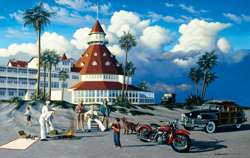 Shore Leave Americana Jigsaw Puzzle