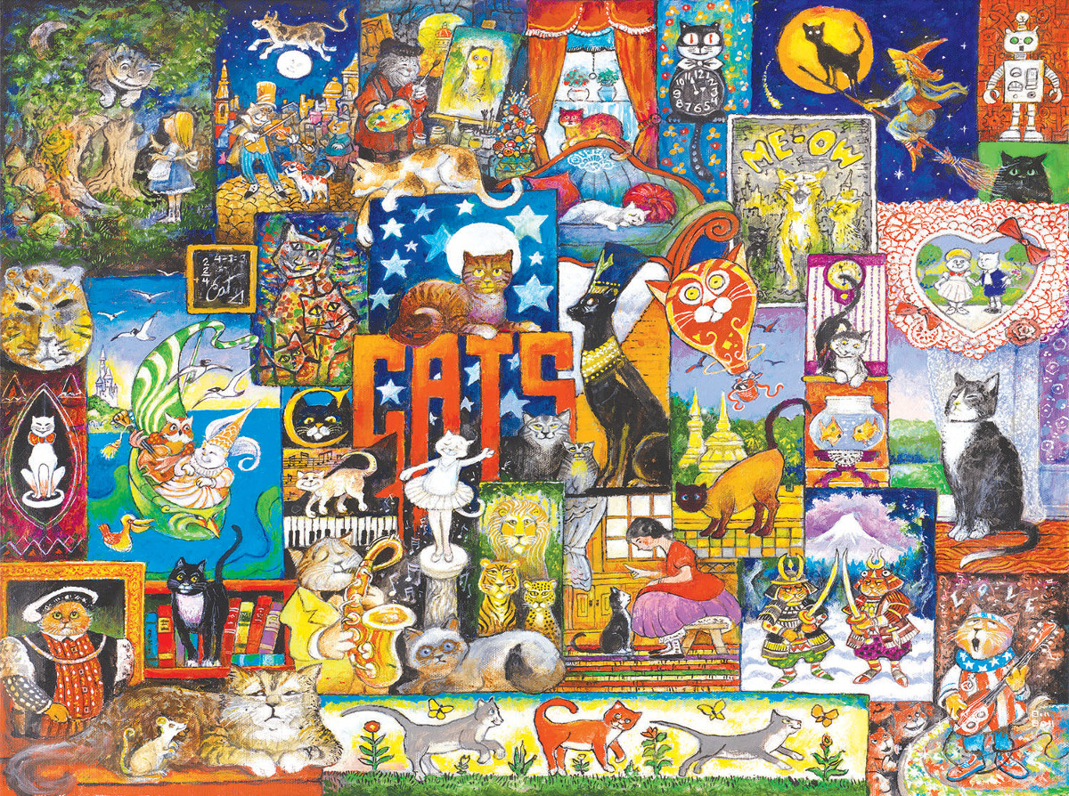 World of Cats Cats Jigsaw Puzzle
