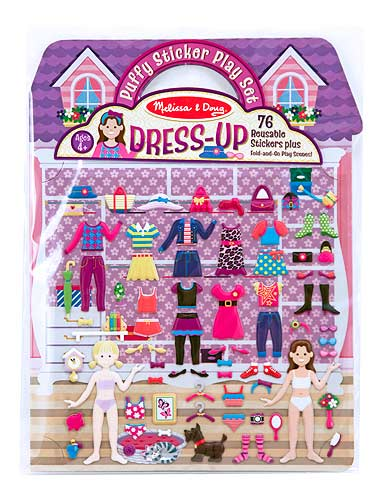 Puffy Sticker Play Set - Dress-Up