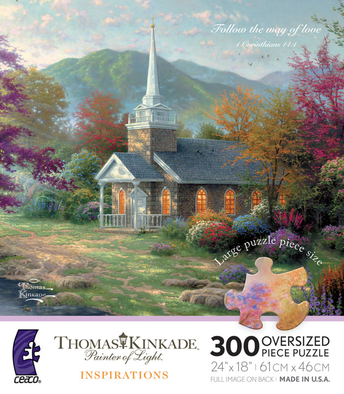 Streams of Living Water Countryside Jigsaw Puzzle
