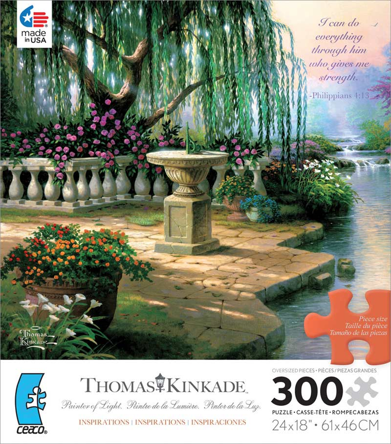 The Hour of Prayer Garden Jigsaw Puzzle