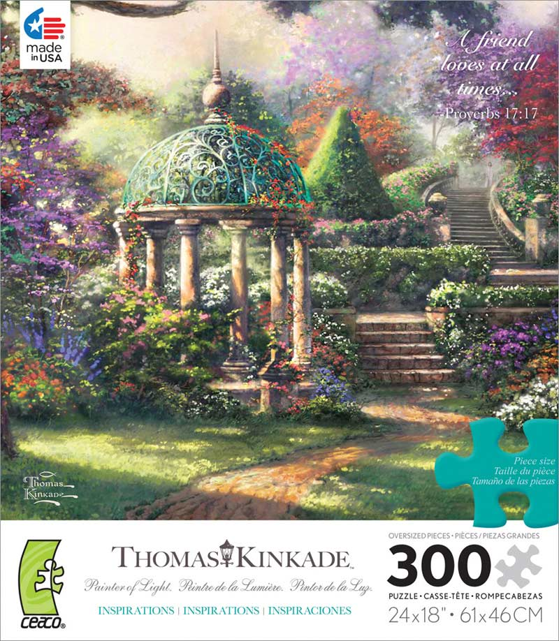 Gazebo of Prayer Garden Jigsaw Puzzle