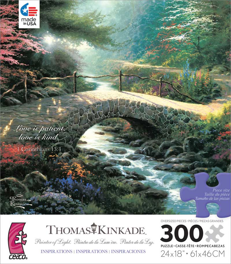 Bridge of Faith Forest Jigsaw Puzzle