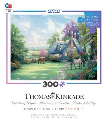 A Perfect Summer Day (Thomas Kinkade Inspirations) - Scratch and Dent Countryside Jigsaw Puzzle
