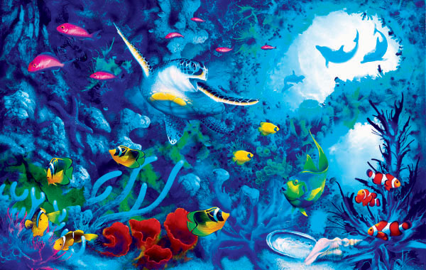 Jewels of the Sea Marine Life Jigsaw Puzzle