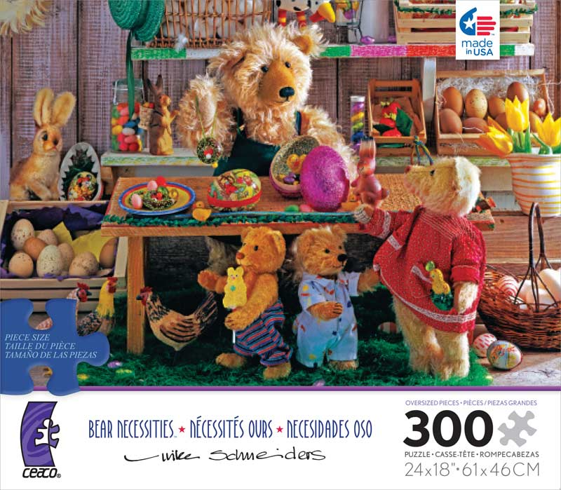 Bear Necessities - Spring Time Bears Jigsaw Puzzle
