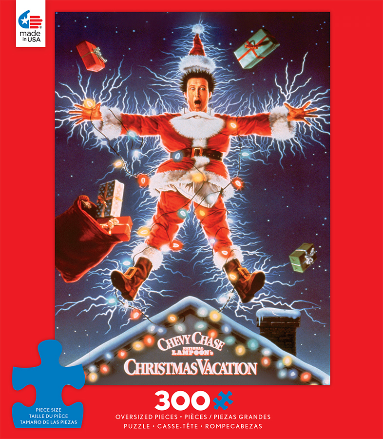 christmas vacation movie posters jigsaw puzzle