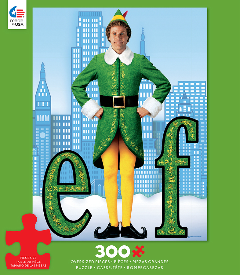 elf movie posters jigsaw puzzle puzzlewarehousecom