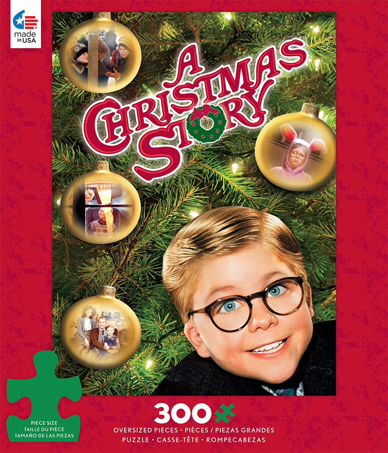a christmas story movie posters winter jigsaw puzzle - The Christmas Story Movie
