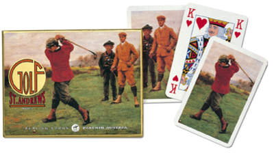 St Andrews, Double Deck Sports Playing Cards