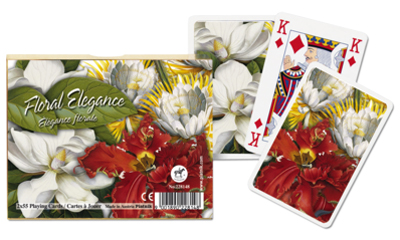Floral Elegance, Double Deck Flowers